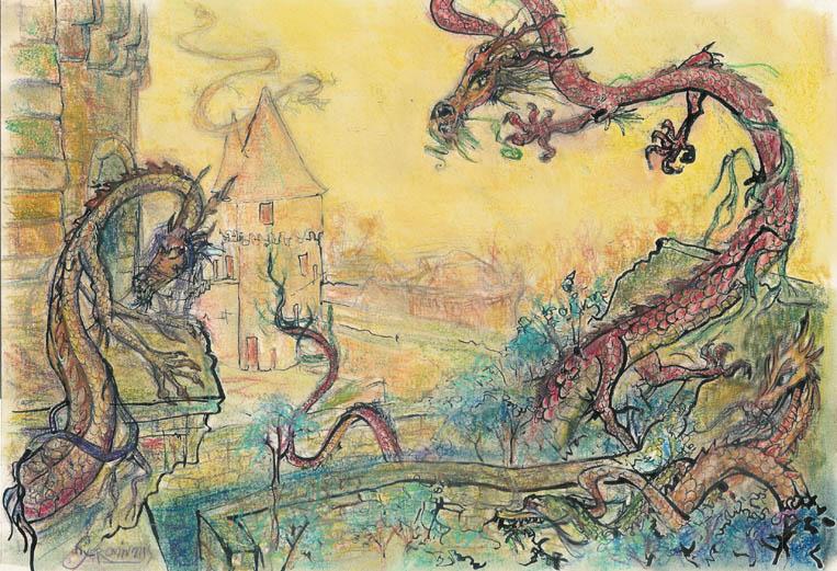 2006 — 39x28 — Pastel et encre de Chine