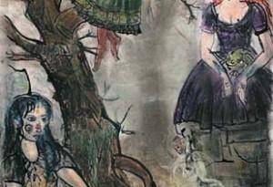 2003 - 26x38 - Pastel et encre de Chine