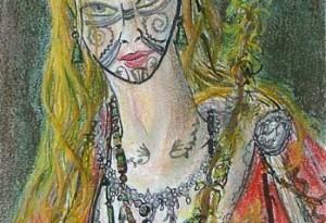 2007 - 20x28 - Pastel, encre de Chine, aquarelle
