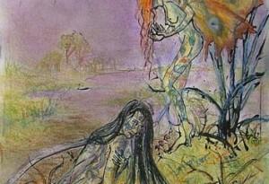 2009 - 28x41 - Pastel, encre de Chine, aquarelle