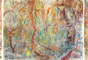 2010 - 32x48 / 63x48 / 32x48 - Pastel et encre de Chine