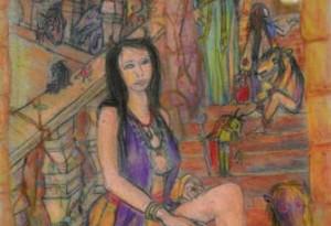 2005 - Pastel et encre de chine