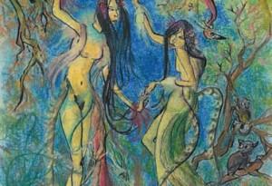 2005 - 26x38 - Pastel et encre de Chine