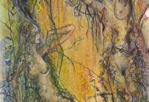 2007 - 27x40 - Pastel et encre de Chine