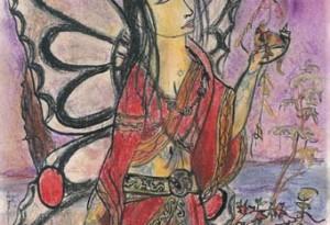 2004 - 25x39 - Pastel et encre de Chine