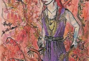 2004 - 27x38 - Pastel et encre de Chine
