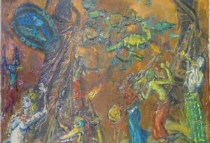 2009 - 46x61 - Huile sur toile