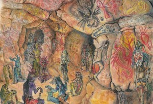 2005 - 57x42 - Pastel et encre de Chine