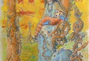2011 - 40x68 - Pastel et encre de Chine