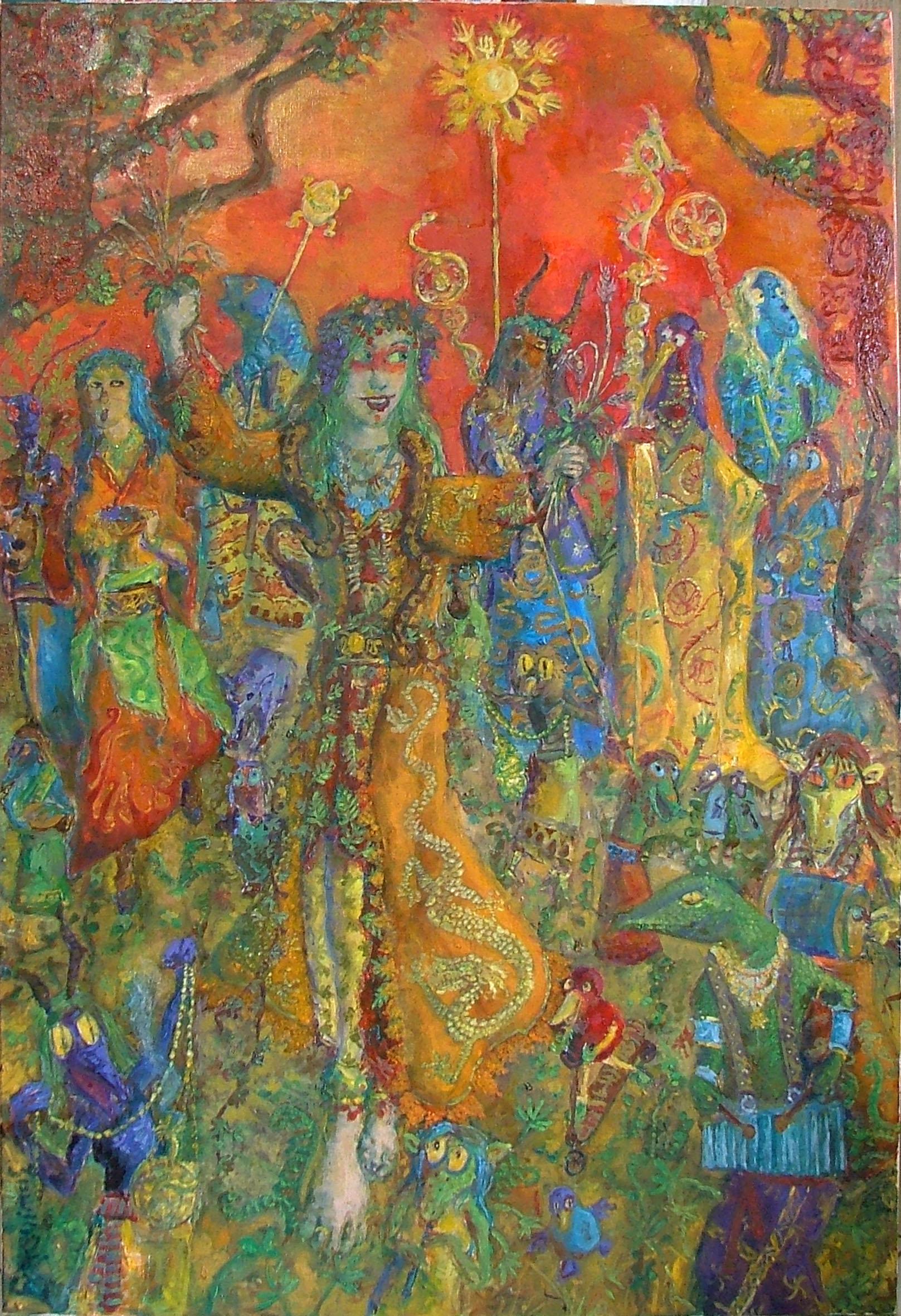 2011 - 89x130 - Huile sur toile