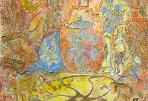 2010 - 45x60 - Pastel et encre de Chine