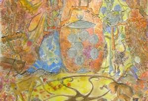 2010 - 45x60 - Pastel et encre de Chine