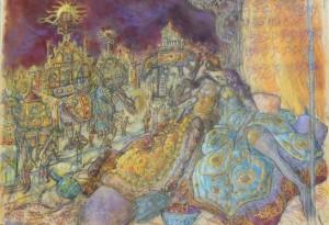 2012 - 65x50 - Pastel et fusain
