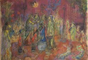 2013 - Pastel et mine de plomb - 64x48