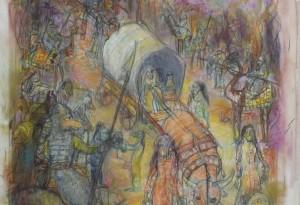 2014 - pastel et crayons - 50x70