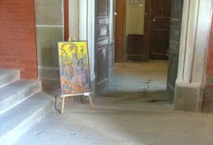 exposition au château de Ducey
