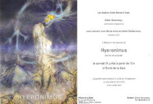 Exposition à l'Écrin de la Baie à Vains Saint Léonard