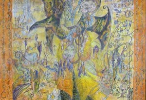 2011 - 140x160 - Pastel et encre de Chine