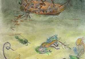 2007 - 35x62 - Pastel et encre de Chine