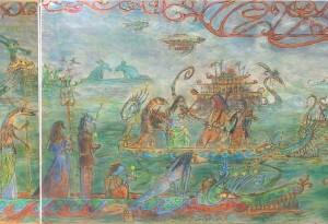 2011 - 28x50 / 70x50 / 42x50 - Pastel et encre de Chine