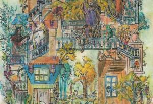 2005 - 42x59 - Pastel et encre de Chine