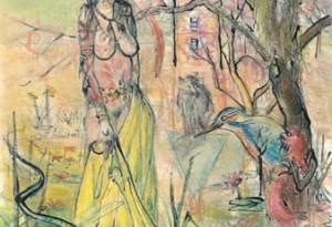 2006 - 29x41 - Pastel et encre de Chine
