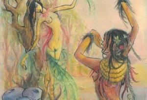 2006 - 50x65 - Pastel et encre de Chine