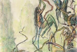 2006 - 39x62 - Pastel et encre de Chine