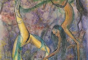 2006 - 28x39 - Pastel et encre de Chine