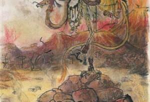 2004 - 26x38 - Pastel et encre de Chine