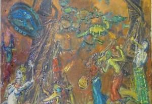 2009 - 46x61 - Huile sur toile