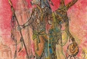 2005 - 27x37 - Pastel et encre de Chine