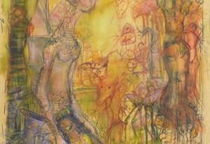 2015 - 43x70 - Pastel et crayons -
