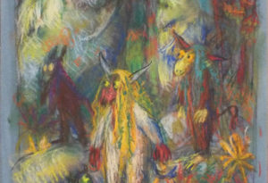 32,5x50 - pastel et crayons - 2019